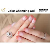 China High Glossy Cheap Low Price Soak Off Smooth Surface Color Changing UV Gel Polish on sale