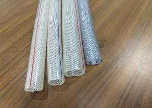 China 3 4 Inch High Pressure Hose , 19mm Crystal Braided Air Hose Good Kink Resistance on sale