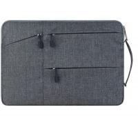 China Grey 18'' Waterproof Laptop Sleeve Case , Lightweight Laptop Sleeve With Handle on sale