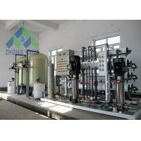 4 Stage Commercial RO Water System , RO Water Filter Plant With Cartridges