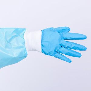 China Disposable Nitrile Gloves Printed With Logo Food Nitrile Gloves Powder Free Nitrile Disposable Gloves on sale