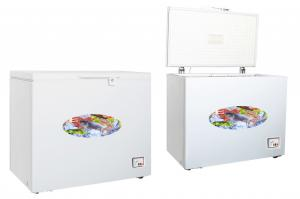 China 300 Liter Energy Efficient Chest Freezer  / Small Chest Freezer With Lock on sale