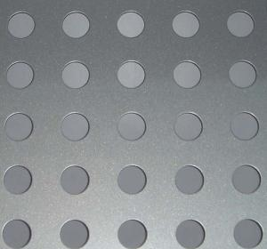 China 304 SS  Hole Shape  Perforated Metal Sheet / Aluminum mesh speaker grille sheet on sale