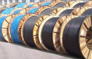China 600/1000V Low Voltage Copper/Aluminum Conductor XLPE/PVC Insulated Power Cable on sale