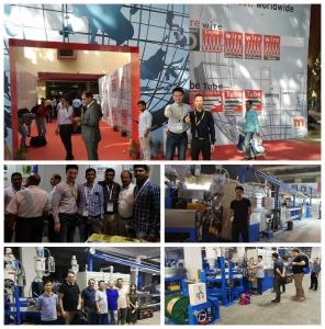 China 70+50+50 Jacket Sheat Extrusion Line , India Wire Making Machine For power cable on sale