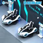 2100 * 2000 * 2100mm VR Racing Simulator Cart With HTC VIVE Helmet 3 Games