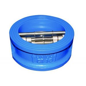 China cast iron stainless steel pn16 dual check valve on sale