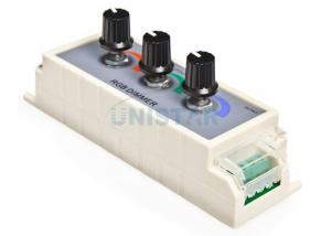 China RGB LED Dial Dimmer Controller 12VDC 3A Per Channel, 3 Channels PWM Dimmer RGB Controller on sale