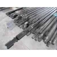 Abrasion Resistant Threaded Drill Rod , Precision Ground Geological Drill Rod