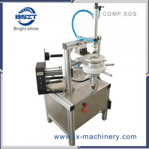 China new  Manual tea cake / Pleat mini small Soap strech film wrapping Machine (Ht-900) on sale