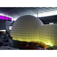 Double Layers Igloo Top LED light Nylon Oxford Bubble Camping Yurt Tent with Bed