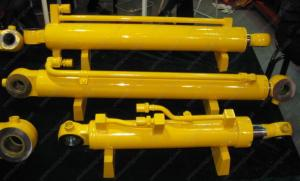 China ISO 9001 AAA Flat Gate Electric Hydraulic Cylinder Max Diameter 1200mm on sale