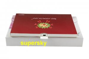 China 4.3 Inch LCD Video Greeting Cards / Lcd Brochure Card For Wedding Celebration on sale