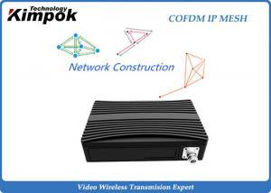 China 16 Nodes COFDM Wireless IP Mesh TDD Transceiver Network Communication Full Duplex for UAV / Mine on sale