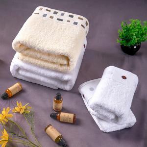 China Sports Beach Hotel Micro Fiber Towel Bath Face Towel 100% Cotton Rectangular on sale