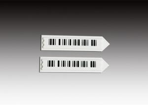 China Insert able Anti Theft Security Labels , Metal / ABS Retail Security Labels Barcode on sale