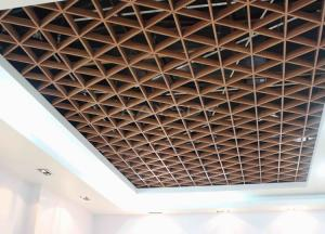 Suspended Decoration Metal Ceiling Tile Grids Aluminum Triangle For - Commercial ceiling tiles near me