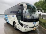 White 19 Seats 2013 Used City Bus Diesel Left Hand Steering 3340mm Height