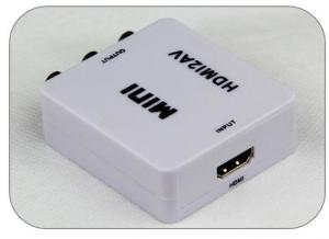 China Wholesale 1080P HDMI To Rca video adapter HDMI To AV Converter on sale