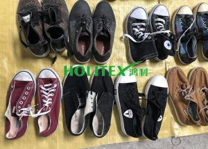 China Mixed Size Used Mens Shoes 2nd Hand Canvas / Casual Shoes For West Africa on sale