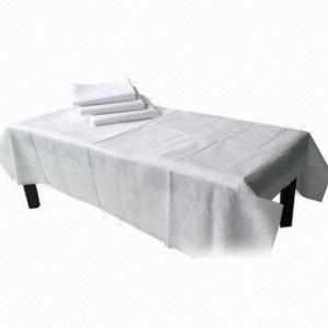 China Medical Nonwoven Disposable Bedding Sheets Breathable Flexible on sale