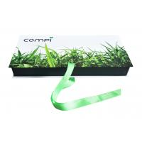 Custom Spot UV Logo Recycled Green Folding Paper Gift Boxes With Ribbon