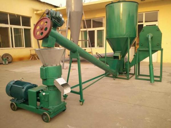 Small Poultry Feed Small Pellet Mill Animal Feed Pellet Production