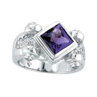 High quality  Semi Precious Stones jewellery Ring with fashionable design for girl