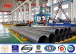 35 Feet Steel Power Pole Grade One Protect Level Galvanization Electrical Steel Pole