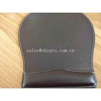 OEM Customized Printing Office PU Leather Mouse Mat Fashion Computer Mouse Pad