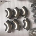 Grade 2 Titanium Fitting ASTM B363 Seamless High Quality Titanium Pipe Elbow titanium elbow