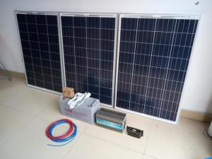 China LEDs Solar Solar panel photovoltaic power generation system 220V power output 500/1000/2000 / 3000W, power supply on sale