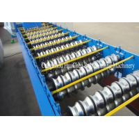 Galvanized Roofing Sheet Roll Forming Machine , Durable Roll Forming Equipment