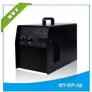 China Refrigeración por aire del negro del generador del ozono de la comida de la descarga de corona eléctrica para la desinfección del paquete on sale