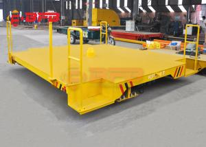 China Industrial Cable Drum Paper Coil Handling Mobile Transfer Carriage With Drive System on sale