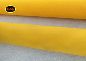 China High Flexibility 110 Screen Printing Mesh With SGS / FDA / MSDS Certificate on sale