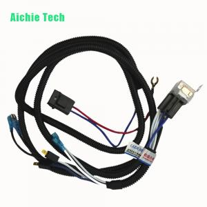 China Custom made automotive headlight wiring harness manufacturers on sale