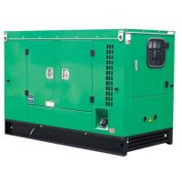 Low Fuel Consumption Cummins Diesel Generator With Electric Motor Starting System