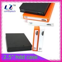 "2.5"" portable hard drive case hdd enclsure"