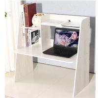 White Wooden Computer Office Desks , MDF Melamine Board Modern Table Furniture