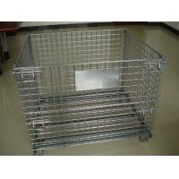 industrial welded wire mesh pallet wire cage wire mesh container storage