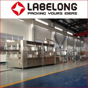 China Rotary Pure Water Filling Machine With PLC Control 3000-18000 Bottles / Hour on sale