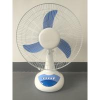 China 90 Degree Oscillation AC Table Fan , Custom Color Table Fan For Home on sale