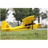 China 2.4Ghz Mini Piper J3 Cub Radio Controlled Toy 4ch RC Airplanes with High - Wing Trainer on sale