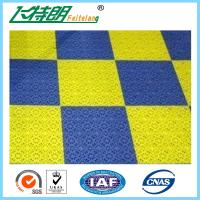 Exterior Interlocking Rubber Floor Tiles Plastic Tile Flooring PUR Solid
