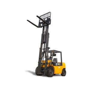 Heavy Duty Diesel Forklift Truck 3 Ton Counterbalanced Small Overall Dimension