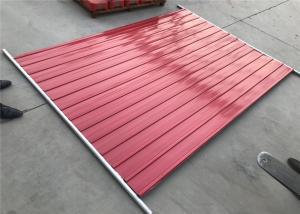 China clôture provisoire en vente Melbourne panneaux de clôture provisoires standard de 2100mm x de 2400mm, clôture provisoire d'occasion on sale