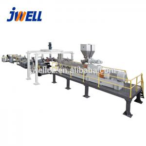 China JWELL PLA biodegradable sheet making machine extrusion line on sale