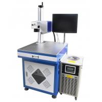 China PCB /Ceramic /Crystal /Plastic Desktop UV Laser Marking Machine Price DMU-3W on sale