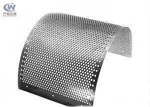 China Stainless Steel Round Hole Sieves Perforated Metal Sheet Wire Mesh Punching Plate on sale